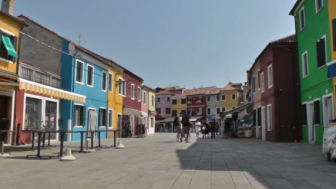 Video I colori di Burano